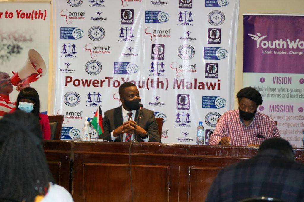 Power to Youth Launch Hon. Ulemu Nsungama - Youth Wave